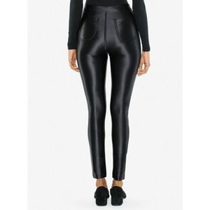 6184784c564 American Apparel Pants - Shiny Black Disco Pants High waisted sleek fit